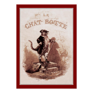 Puss in Boots (Le chat botté) Poster