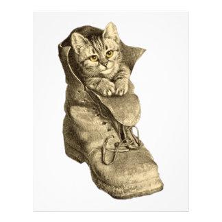 Puss In Boots Letterhead