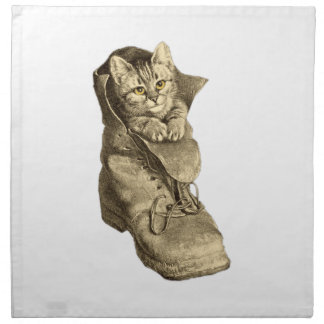 Puss In Boots Napkins