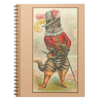 Puss in Boots Notebook