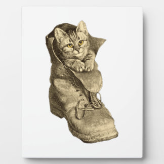 Puss In Boots Photo Plaques
