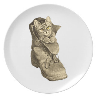 Puss In Boots Dinner Plates