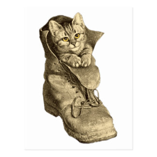 Puss In Boots Post Cards