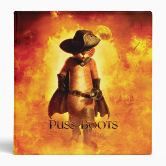 Puss In Boots Poster Binder