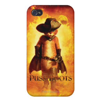 Puss In Boots Poster iPhone 4/4S Cases