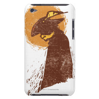 Puss In Boots Silhouette Barely There iPod Case