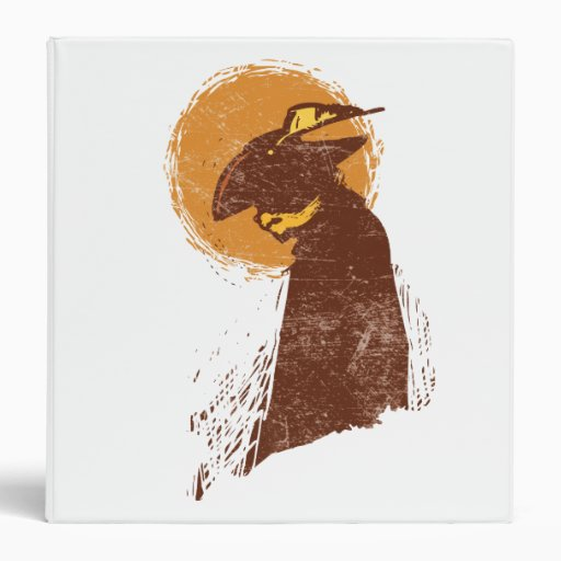 Puss In Boots Silhouette Binder
