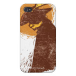 Puss In Boots Silhouette Cases For iPhone 4