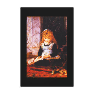 Puss in Boots', Sir John_Portraits Canvas Print