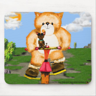 PUSS in BOOTS Tricycle mouse Mat Mouse Pad