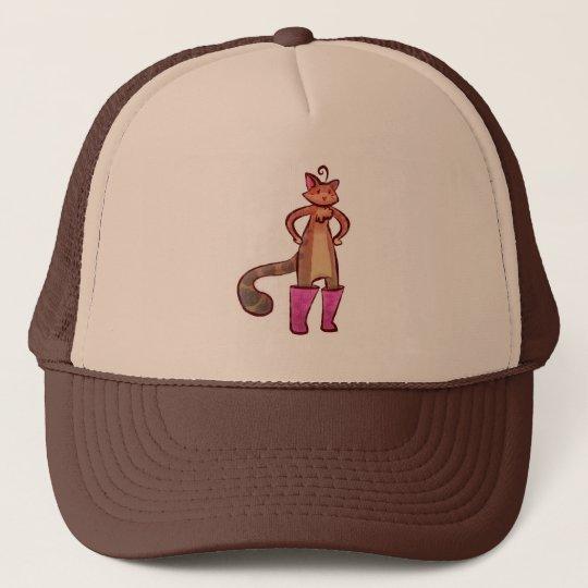 Puss in Boots Trucker Hat
