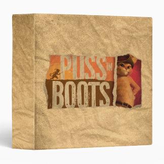 Puss in Boots Vinyl Binder
