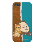 Puss joven y Humpty iPhone 5 Carcasa