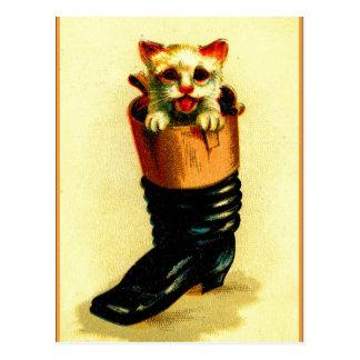 Puss 'n Boot Postcard