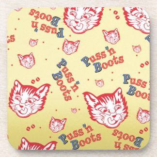 Puss n Boots Brand Coaster