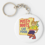 Puss' N Boots Key Chains