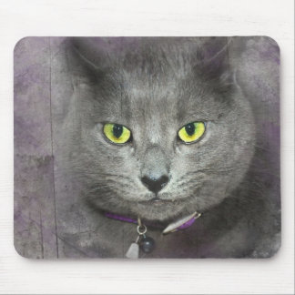 Puss Pose Mouse Pad