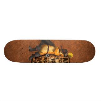 Puss querido en las botas (carbón de leña) tablas de skate