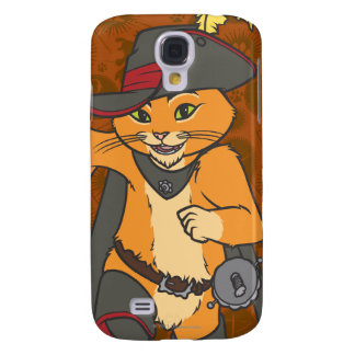Puss Running Galaxy S4 Cover