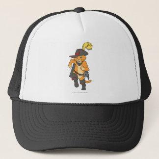 Puss Running Trucker Hat