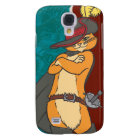 Puss with Arms Crossed Samsung Galaxy S4 Cover