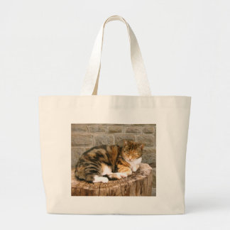 Pussels - Cat on a Stump Bags