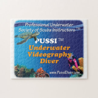 PUSSI Underwater Videoprapher Jigsaw Puzzle