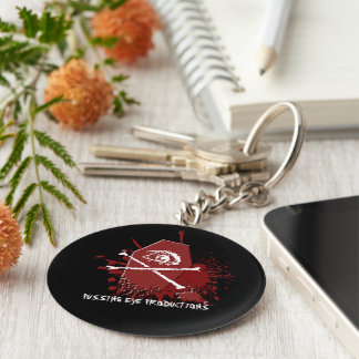 Pussing Eye Casket [KEYCHAIN] Basic Round Button Keychain