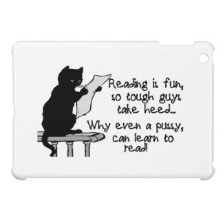 Pussy Can Read Funny Cat iPad Mini Case