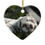 Pussy Cat Ceramic Ornament