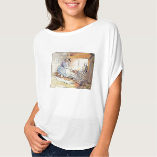 Pussy Cat Cooking at the Fireplace T-Shirt