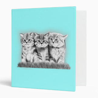 Pussy Cats 3 Ring Binder