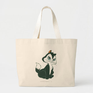 Pussy Foot Sitting Jumbo Tote Bag