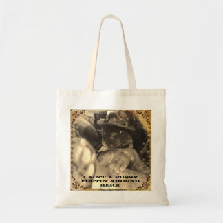 Pussy Footin' Tote Bag