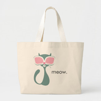 Pussy Golightly Love Canvas Bags