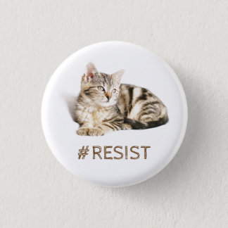 Pussy grabs back - #resist pinback button