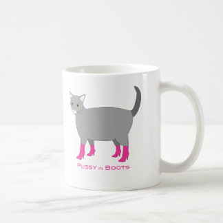 Pussy in Boots Mug