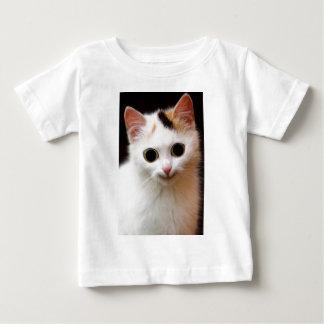 Pussy white  Cat Tee Shirt