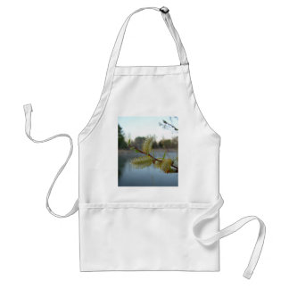 Pussy Willow Flowers Adult Apron
