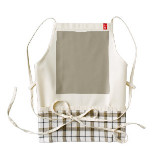 Pussy Willow Grey in an English Country Garden Zazzle HEART Apron