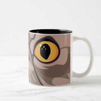 Pussycat Two-Tone Coffee Mug