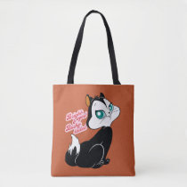 Pussyfoot Bright-eyed Kitty Tote Bag