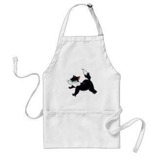 Pussyfoot Claws Out Adult Apron