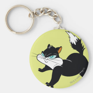 Pussyfoot Claws Out Basic Round Button Keychain