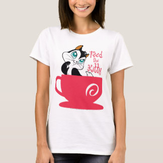Pussyfoot Feed the Kitty T-Shirt