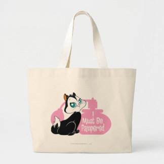 Pussyfoot I Must Be Pampered Jumbo Tote Bag