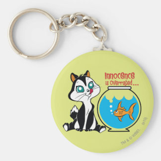 Pussyfoot Innocence is Overrated Keychain