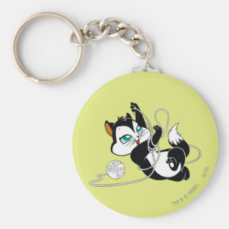 Pussyfoot Tangled Up Keychain