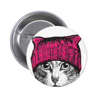 Pussyhat Pussycat Button - Stay Nasty Pussyhat