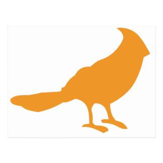 Put A Bird On It (Orange) Postcard